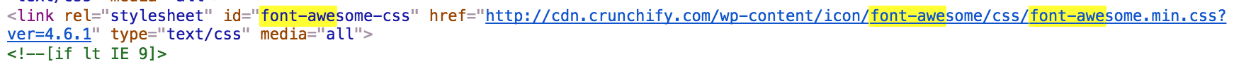 font-awesome-icons-loaded-successfully-on-crunchify