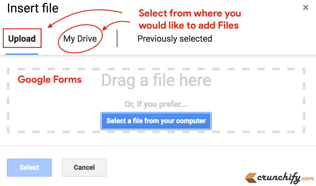 G Suite] Google Forms Now Allowing users to Upload File from ...