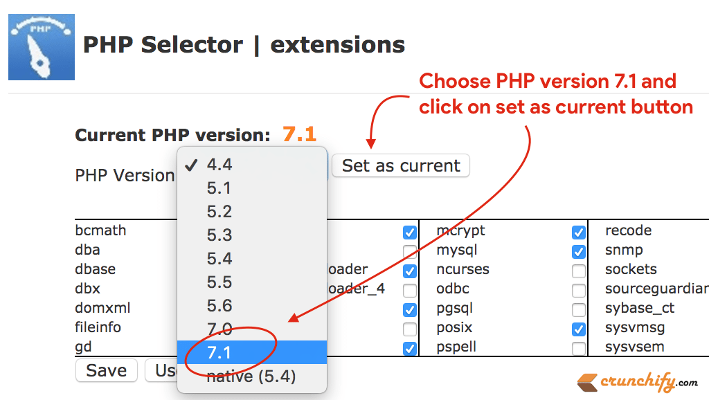How to Update WordPress PHP Version to 7.1 in cPanel for Better Site Performance ...