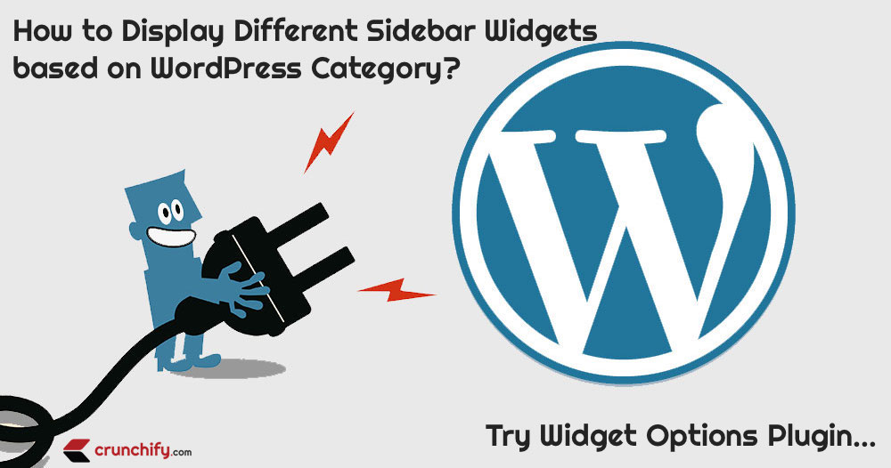 How to Display Different Sidebar Widgets based on WordPress Category? Try Widget Options Plugin