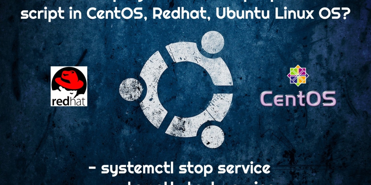 systemctl start/stop service: How to Setup Upstart Script and Respawn Process  in Ubuntu, CentOS, Redhat Linux