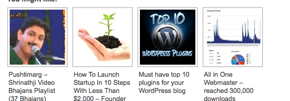 Outbrain – Best Related Link Widget for your WordPress Blog.
