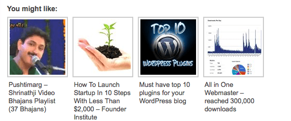 Outbrain – Best Related Link Widget for your WordPress Blog
