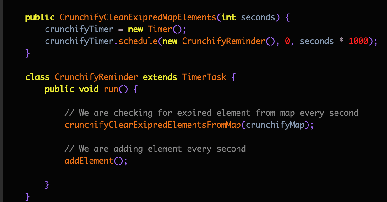 Sample Crayon Syntax Highlighter Plugin Output - Crunchify result