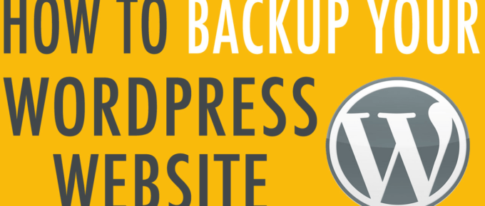 How to Backup Wordpress - Crunchify Tips