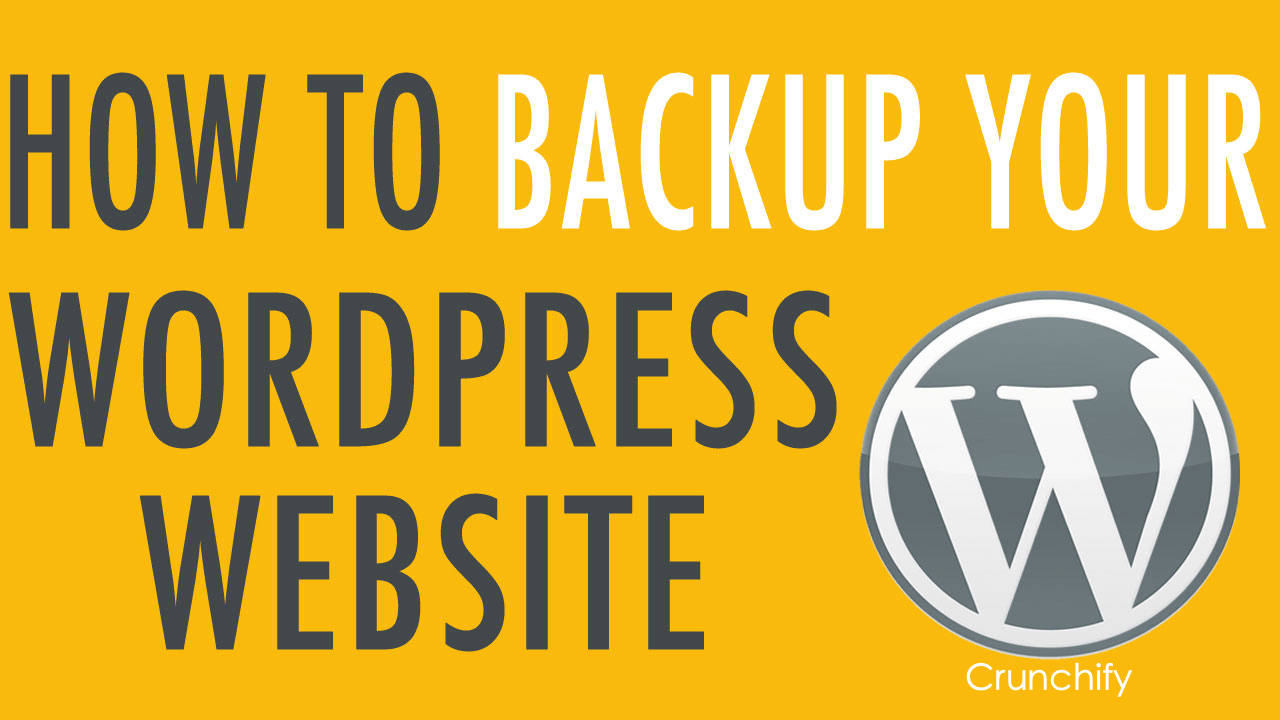 backup-wordpress-crunchify