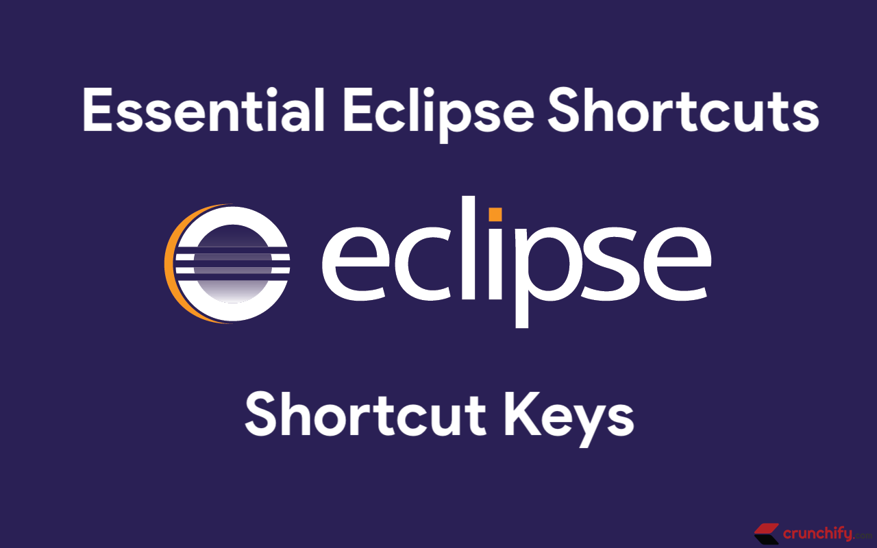 Eclipse Handy Keyboard Shortcuts