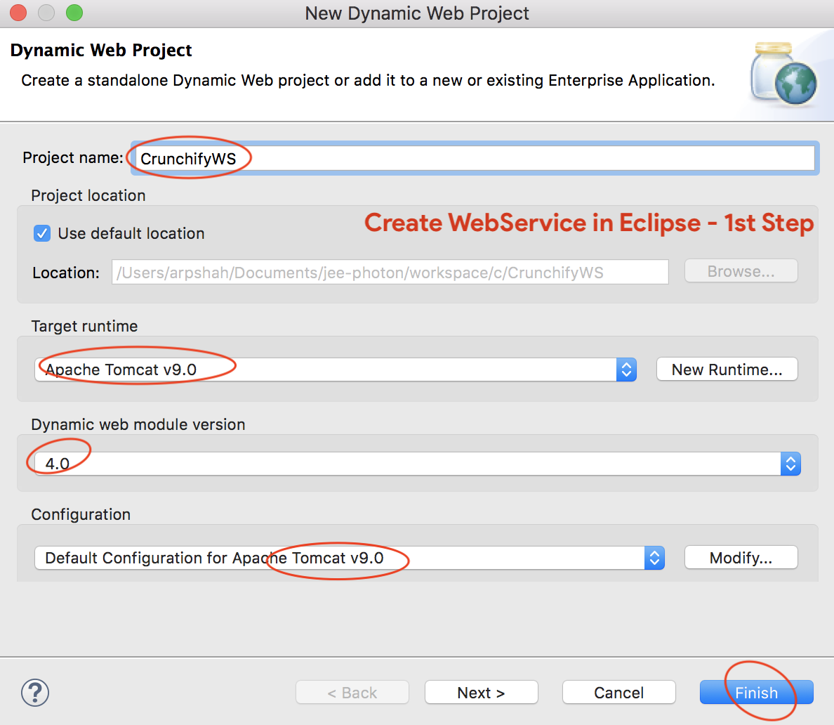 Create and Deploy Simple Web Service and Web Service Client