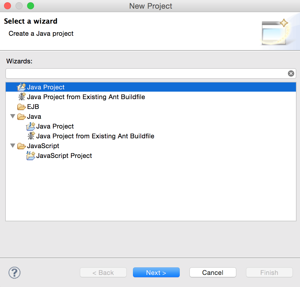 Crunchify Create Java Project