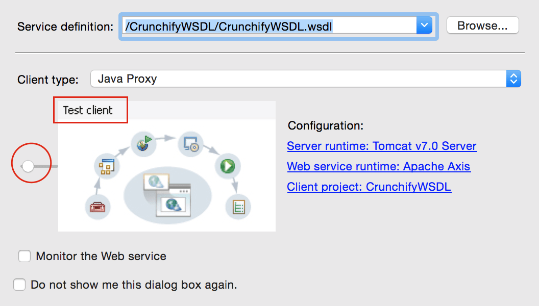 How to Create Sample WSDL in Eclipse and Generate Client
