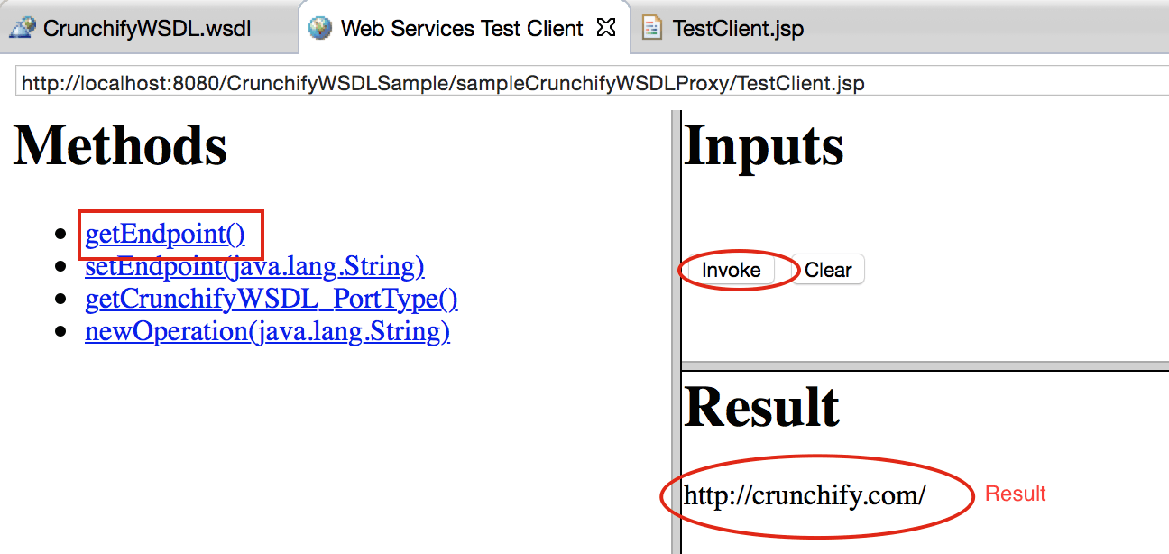 How to Create Sample WSDL in Eclipse and Generate Client • Crunchify