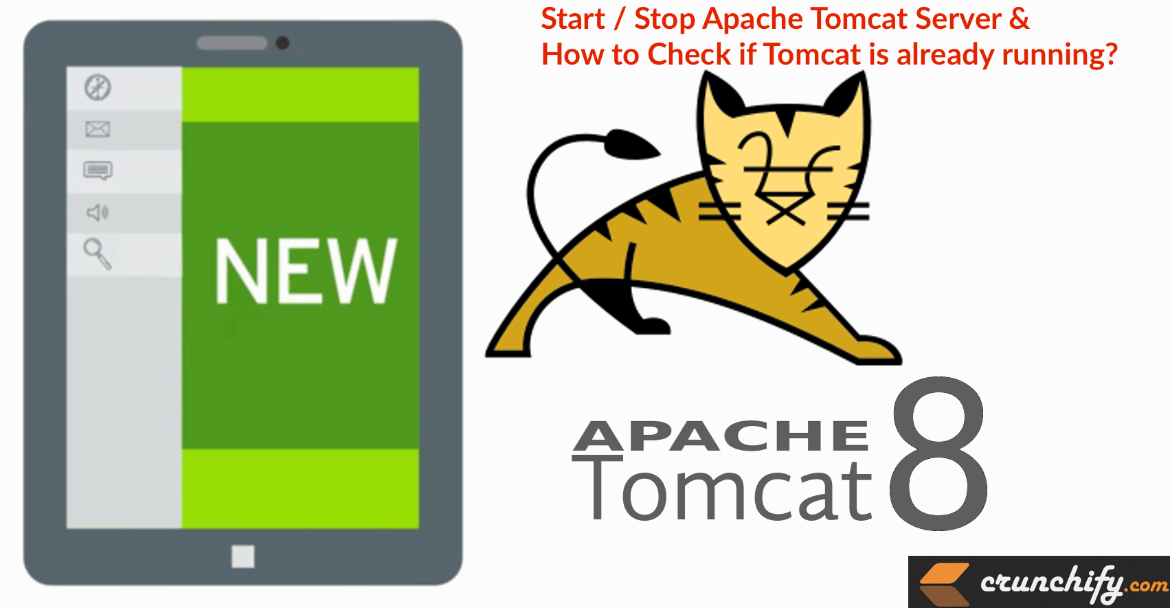 How to Start Stop Apache Tomcat via Command Line? Check if