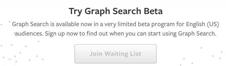 Facebook try Search Graph