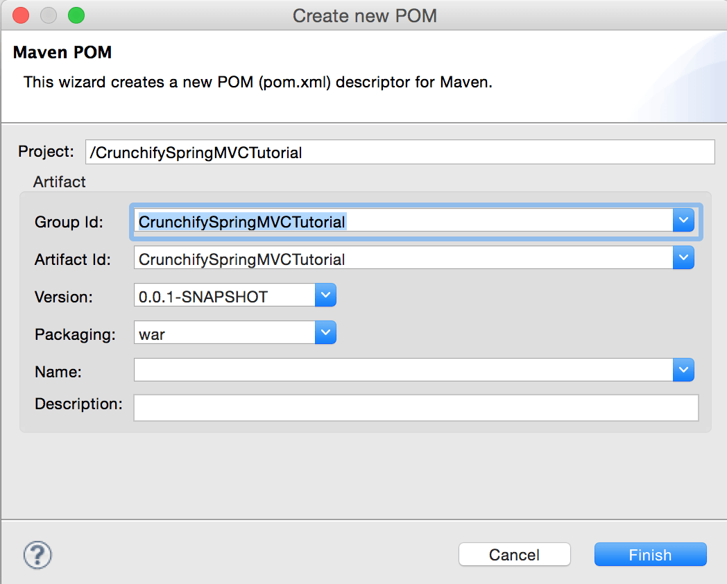 Convert CrunchifySpringMVCTutorial to Maven project