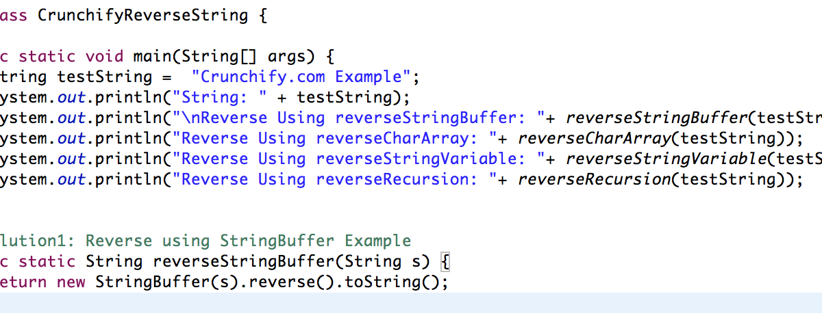 How to Reverse a String in Java?