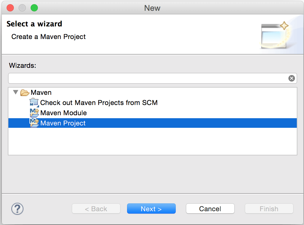 Create Simple Maven Project in Eclipse