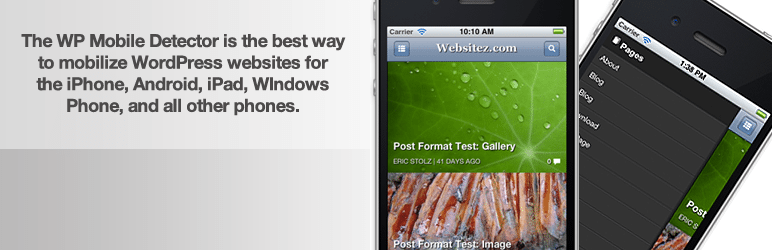 WP Mobile Detector Mobile Friendly Theme