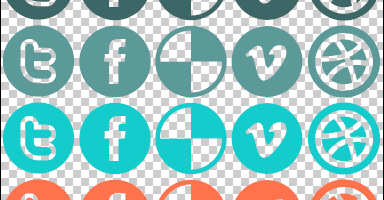 Social Media CSS Sprite Example for Your WordPress Blog – Implement Simple Follow Buttons