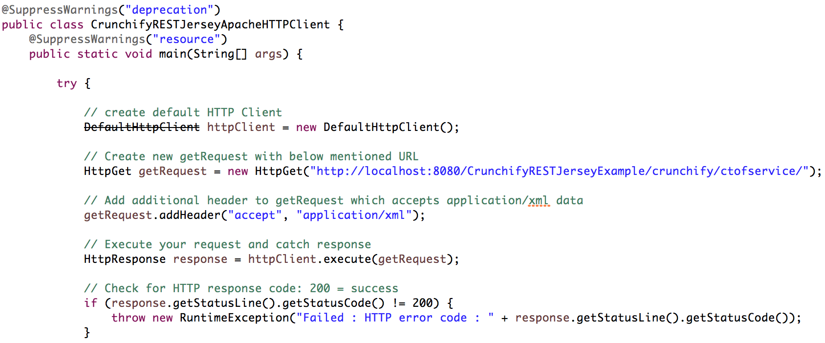Java Tutorial: How to Create RESTful Java Client using