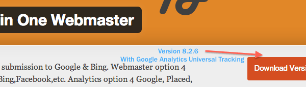 Google Analytics Universal Tracking now in All in One Webmaster WordPress Plugin