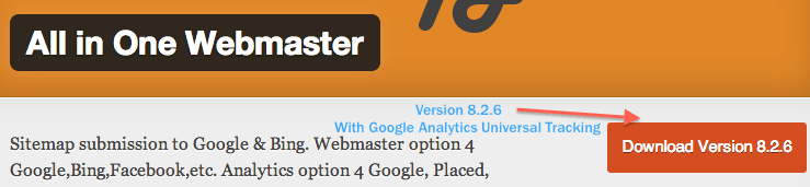 All in One Webmaster WordPress plugin by Crunchify - v8.2.6