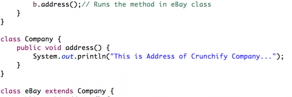 Java Method Overriding Examples and Concepts: Overriding Rules