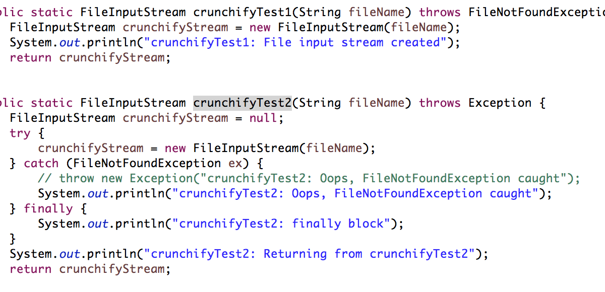 What is a Difference Between throw Vs. throws in Java