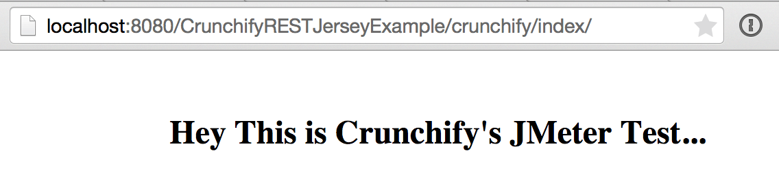 Crunchify REST Jersey Example URL test