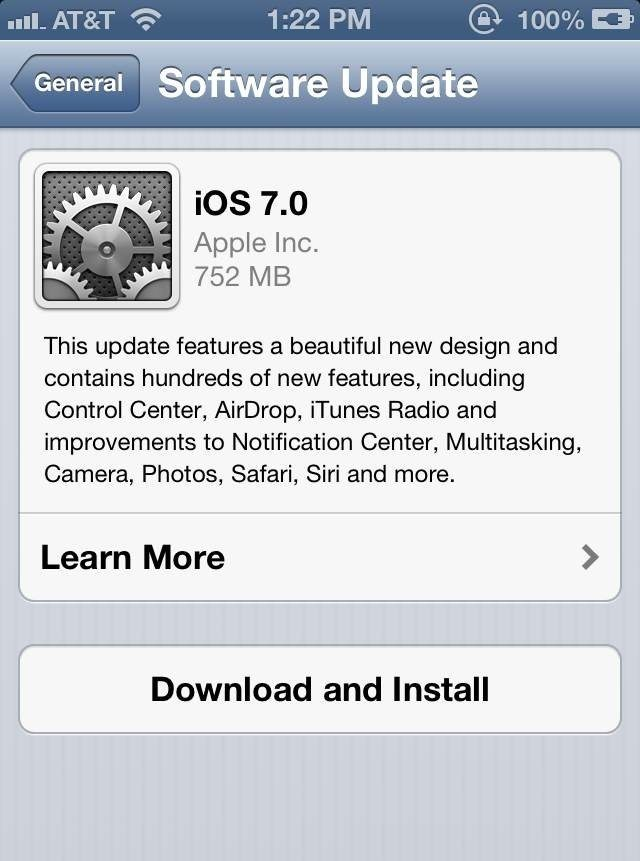 iOS 7 Available for Download