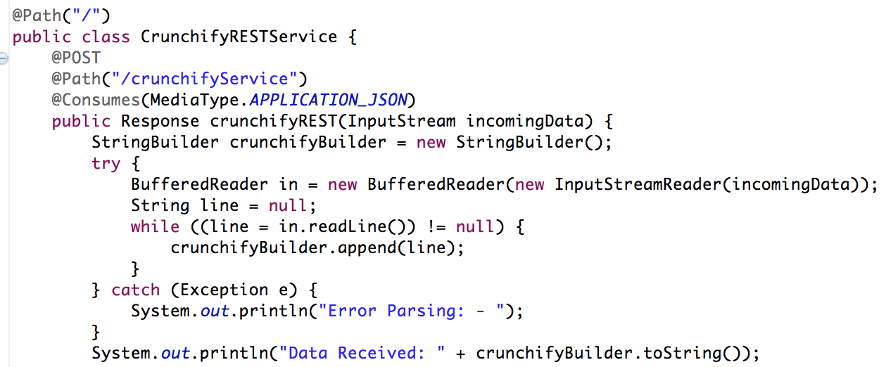 Crunchify REST Service Example