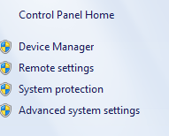 Windows 7 - Advanced Setting Option - Crunchify Tips