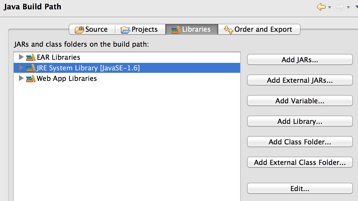 Eclipse Java Version Setting