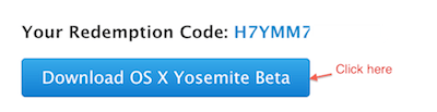 Download OS X Yosemite Beta