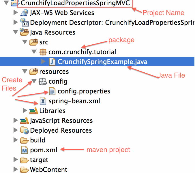 Read config.properties value using Spring 'singleton' Scope in your Java Enterprise Application