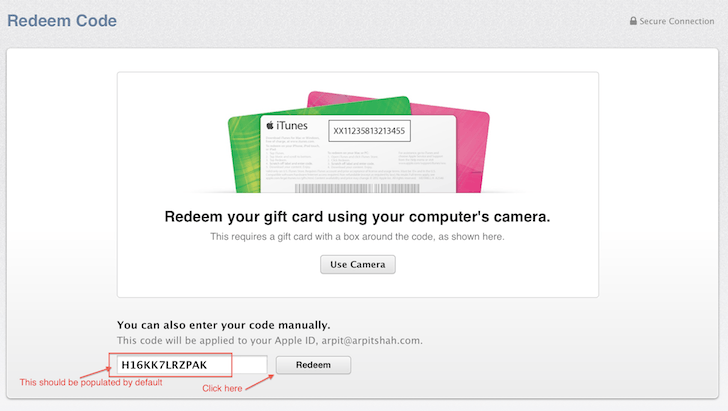 Mac OS X Yosemite Beta Redeemption Code