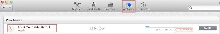 See Download update for OS X Yosemite Beta
