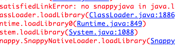 Cassandra and java.lang.UnsatisfiedLinkError: no snappyjava in java.library.path Error