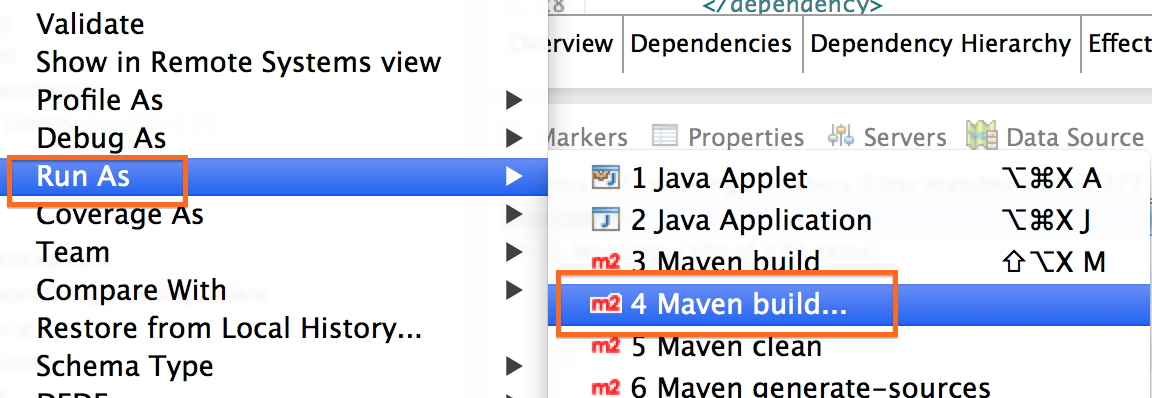 Maven Build in Eclipse