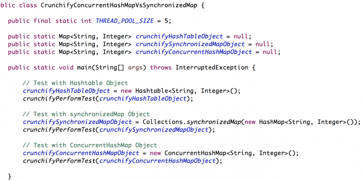 HashMap Vs. ConcurrentHashMap Vs. SynchronizedMap – How a HashMap can be Synchronized in Java