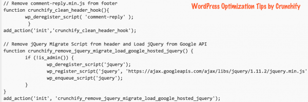 Try to Deregister / Remove comment-reply.min.js, jquery-migrate.min.js and responsive-menu.js from WordPress if not required