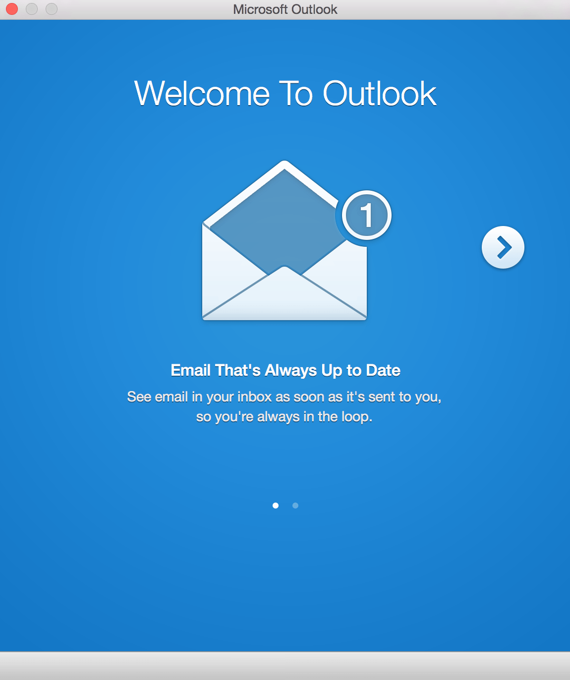 Microsoft Office 2016 for Mac Preview - Outlook Crashes