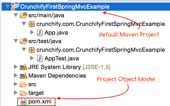 How to import all Spring MVC Dependencies to your Maven Project?