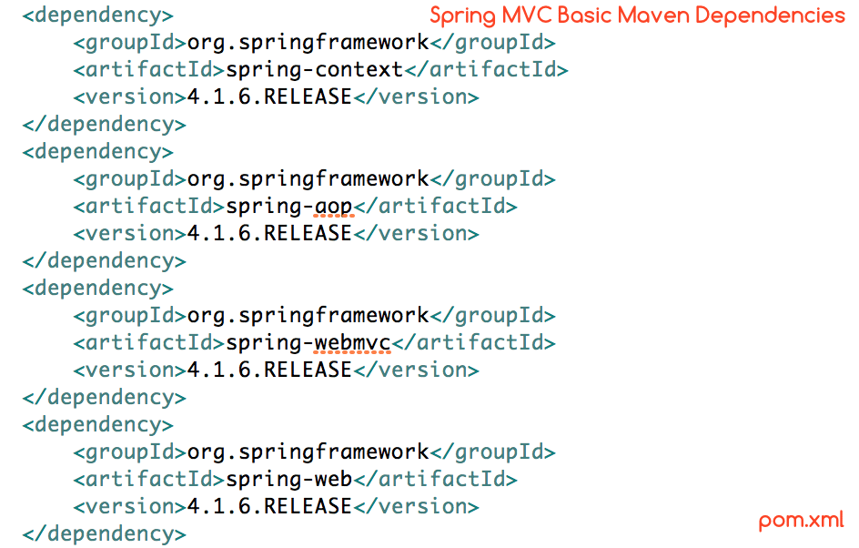 Spring MVC Basic Maven Dependencies - Crunchify Tips