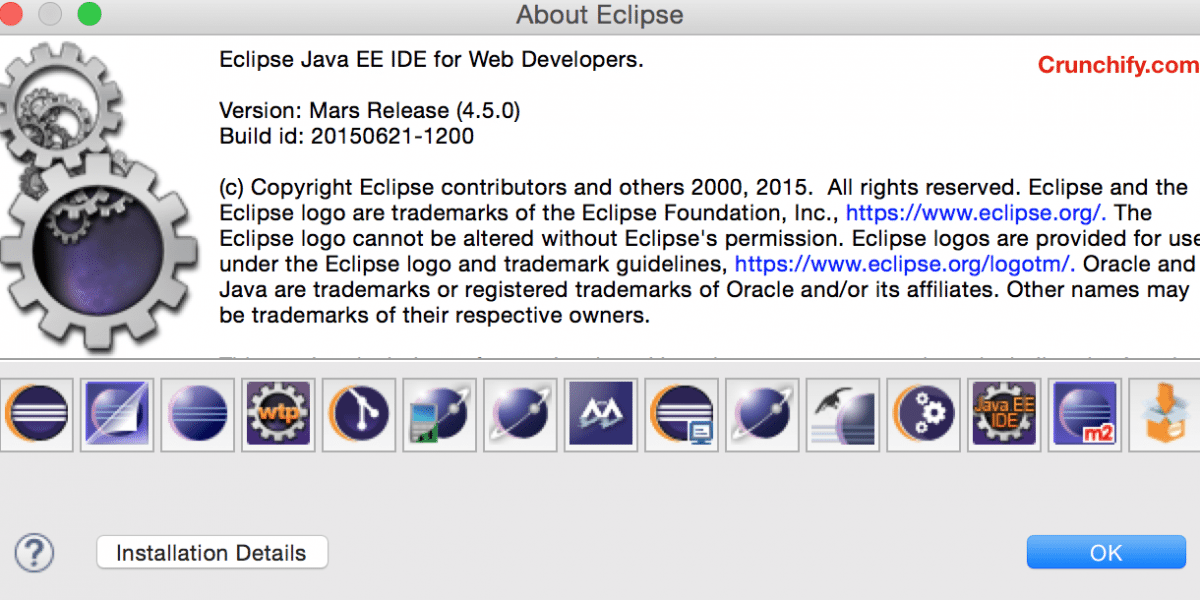 Eclipse Mars: version 4.5.0 Release on June 24th 2015 – Hands on