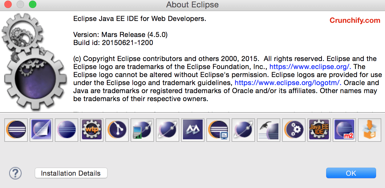 Eclipse Mars Release on June 24th 2015 - Crunchify.com