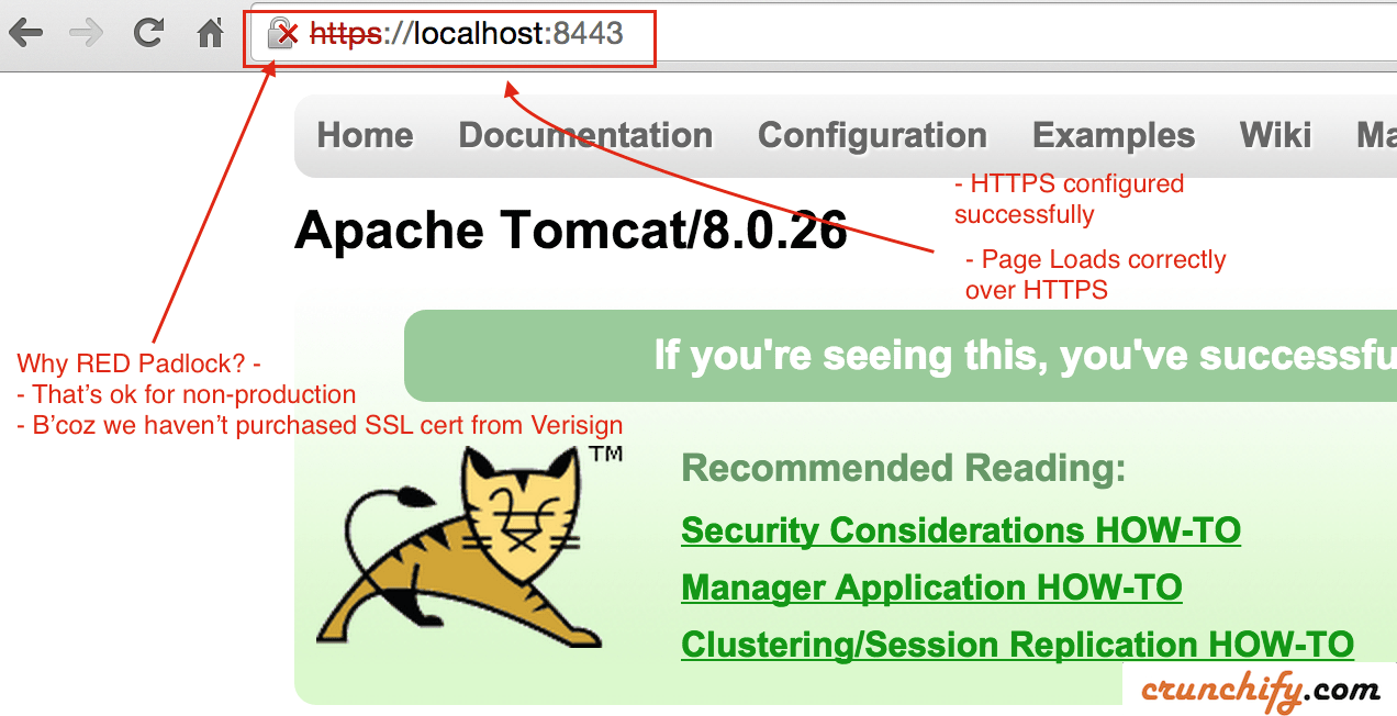 Step by step guide to enable https or ssl correct way on apache cert installed successfully crunchify tips xflitez Images