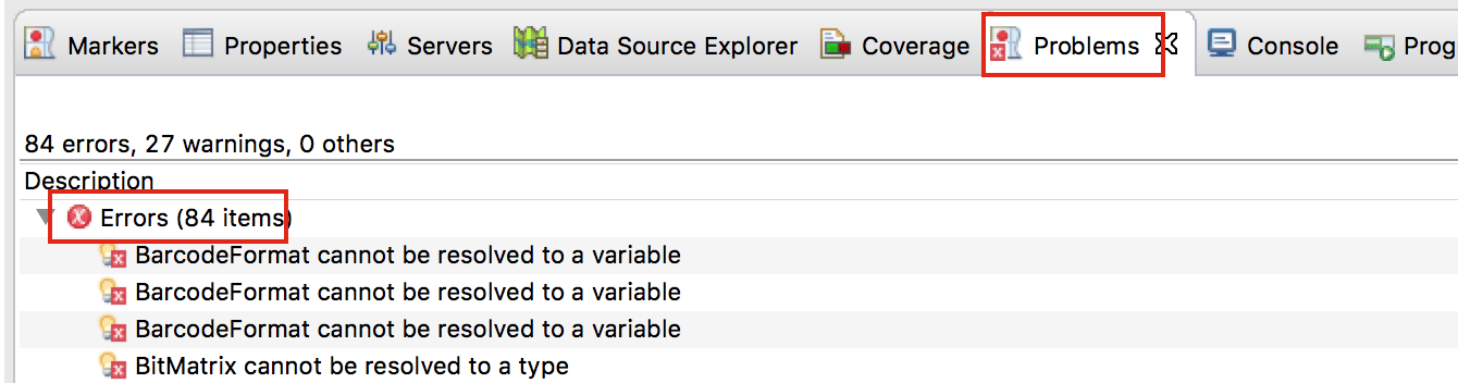 Eclipse throws number of different errors in case of missing settings.xml file