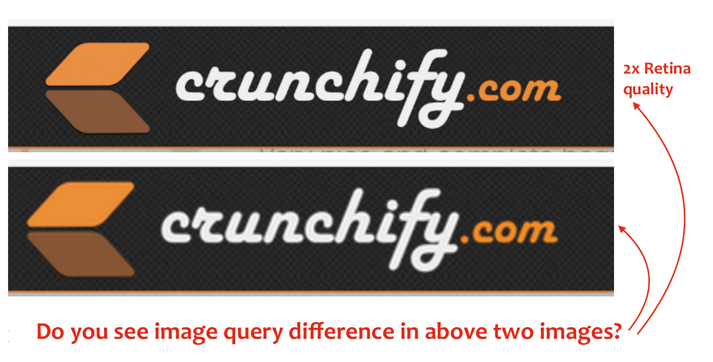 2x Retina Image Quality Difference - Crunchify Tips