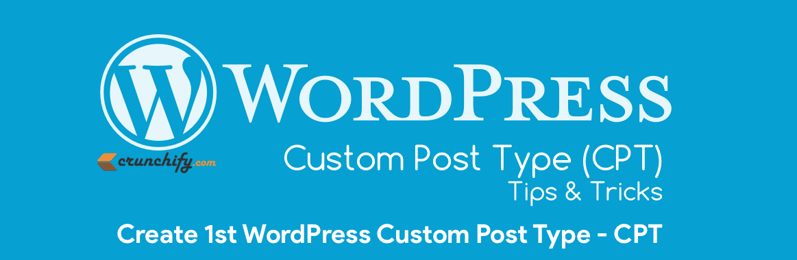 How to Create WordPress Custom Post Type (CPT) and Taxonomy