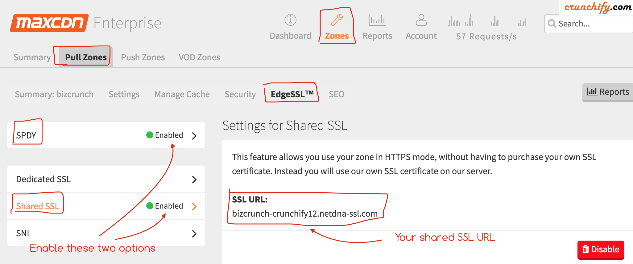 Enable MaxCDN on your WordPress SSL Site - Crunchify.com Tips